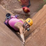 Mia Tucholke - Rock Climbing & Canyoneering Guide - Moab Cliffs & Canyons