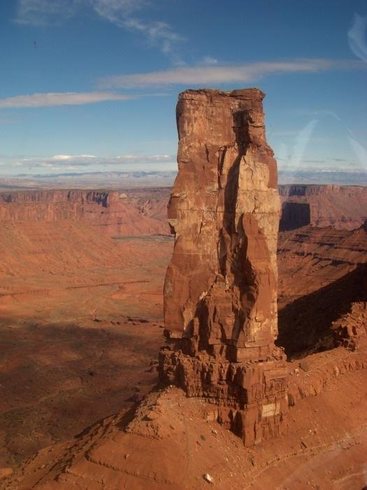 Moab Tower Climbing Tour Castleton Tower Climbing Moab