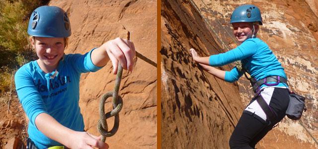 Rock Climbing - Moab Cragging
