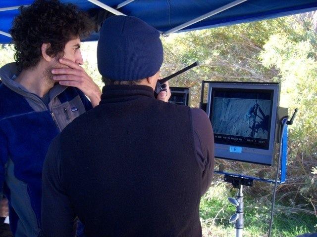 Josh & Xander directing