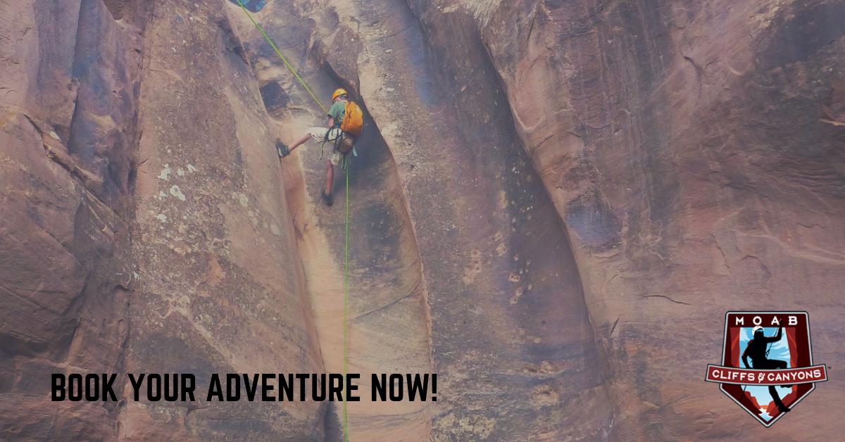 Moab Utah Adventure Tours Introduction to Canyoneering Course – 1 Day In Moab Canyons