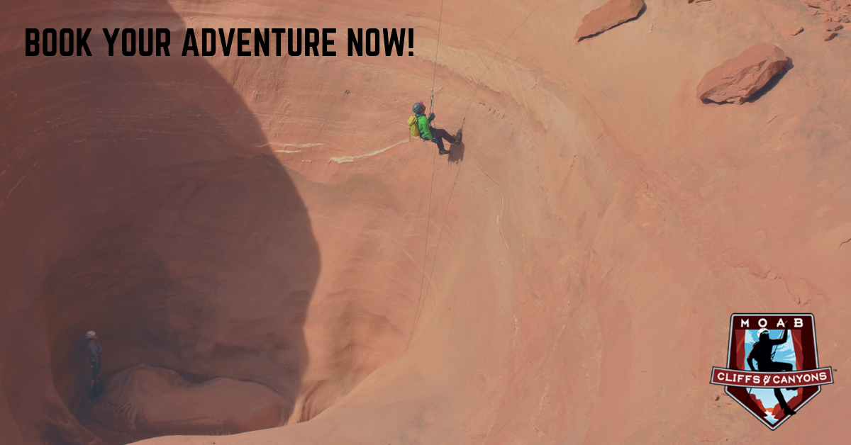 Moab Utah Adventure Tours Canyoneering Adventure Tour - Full Day Trip - Granary Canyon