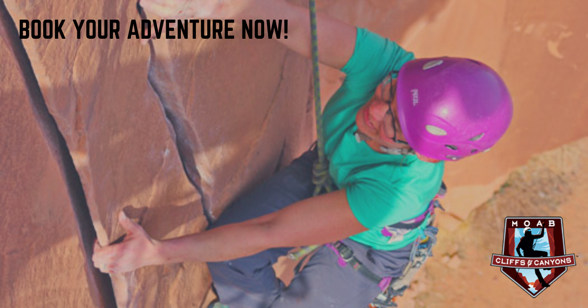 Moab Utah Adventure Tours Rock Climbing Tour – Full Day Trip – Moab Local Climbing & Cragging
